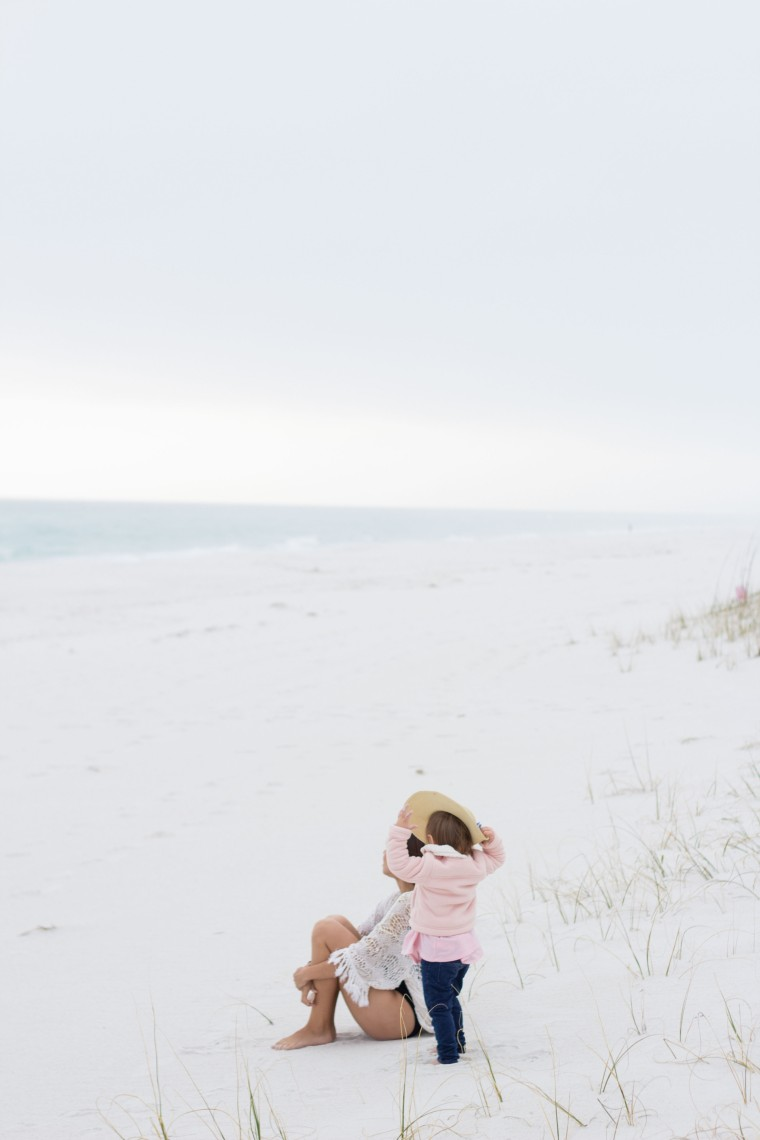 Pink Blush swimwear at Navarre Beach-2