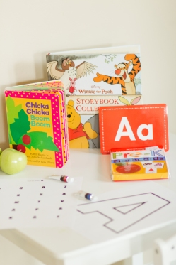 homeschool letter A